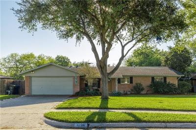 Corpus Christi Single Family Home For Sale: 4706 River View Trail