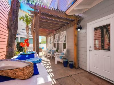 Port Aransas Condo/Townhouse For Sale: 2525 S 11th St #45