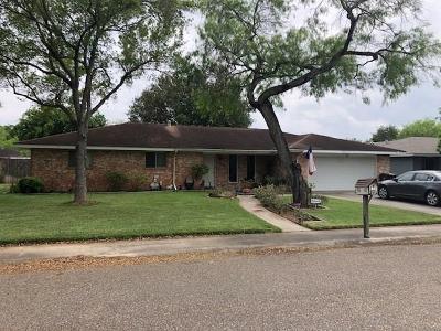Kingsville Single Family Home For Sale: 1506 Parker St