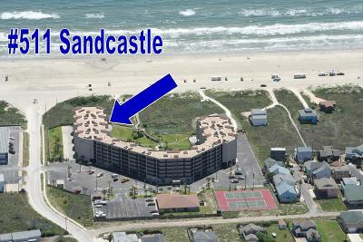 Port Aransas Condo/Townhouse For Sale: 800 Sandcastle Dr #511