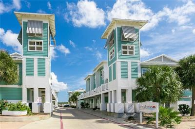 Port Aransas Condo/Townhouse For Sale: 3021 Eleventh St 9 #9