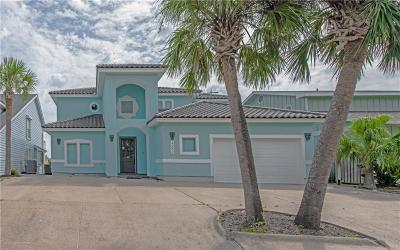 Port Aransas Single Family Home For Sale: 422 Bayside Dr.