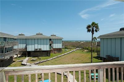 Port Aransas Condo/Townhouse For Sale: 1319 S 11th St #407