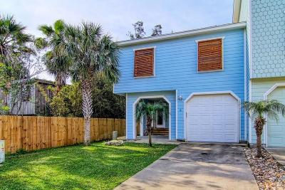 Port Aransas Condo/Townhouse For Sale: 247 W Roberts Ave #4