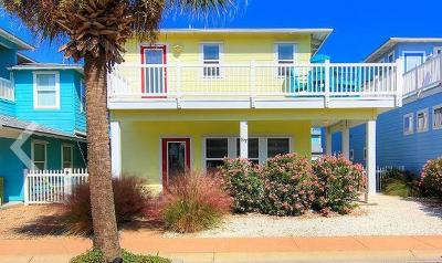 Port Aransas Condo/Townhouse For Sale: 2525 S 11th St #87