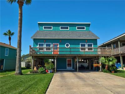 Port Aransas Single Family Home For Sale: 625 Sandpiper Circ