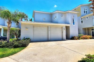Port Aransas Condo/Townhouse For Sale: 3700 Island Moorings Parkway #15