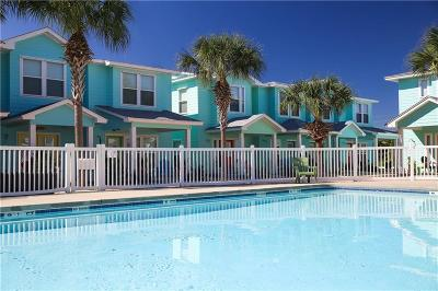 Port Aransas Condo/Townhouse For Sale: 2120 S. Eleventh St #404