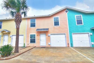 Port Aransas Condo/Townhouse For Sale: 604 Beach Access Road 1-A #7B