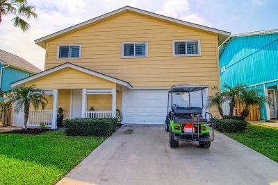 Port Aransas Single Family Home For Sale: 1011 Whispering Sands St
