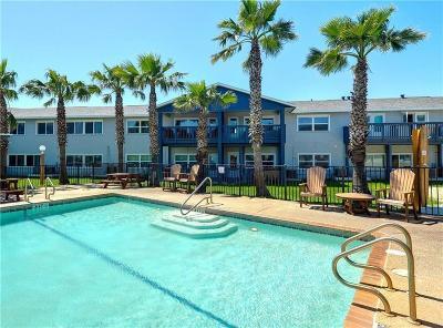 Port Aransas Condo/Townhouse For Sale: 1129 S 11th St #16