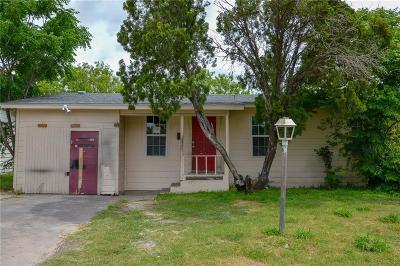 Corpus Christi TX Single Family Home For Sale: $74,900