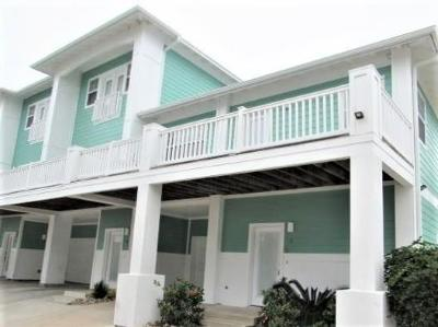 Port Aransas Condo/Townhouse For Sale: 3021 Eleventh St #5