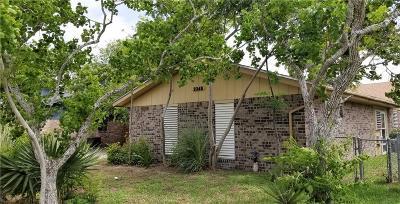Ingleside Single Family Home For Sale: 2368 Mesquite