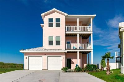 Port Aransas Single Family Home For Sale: 334 Royal Dunes Cr