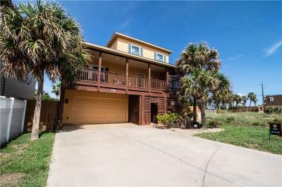 Port Aransas Single Family Home For Sale: 687 Marlin Azul