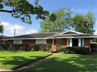 Corpus Christi Single Family Home For Sale: 4101 Kingston Dr