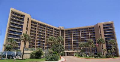 Port Aransas Condo/Townhouse For Sale: 6649 Seacomber Dr #1010