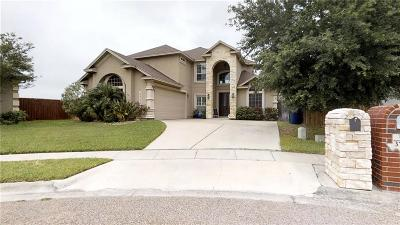 Robstown Single Family Home For Sale: 3734 Lake Hawkins