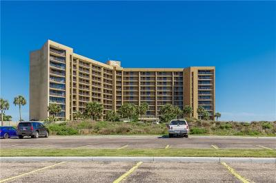 Port Aransas Condo/Townhouse For Sale: 6649 Seacomber Dr #607