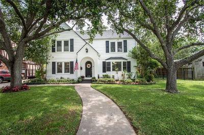 Corpus Christi Single Family Home For Sale: 513 Del Mar Blvd