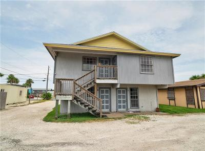 Port Aransas Single Family Home For Sale: 213 Avenue J