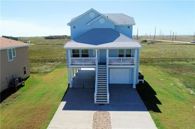 Port Aransas Single Family Home For Sale: 153 Beach View Dr