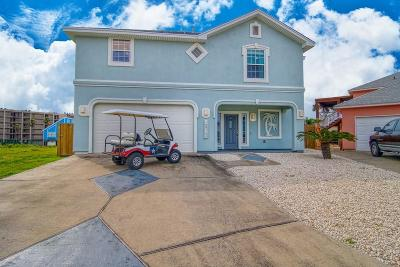 Port Aransas Single Family Home For Sale: 1813 Palisades Dr