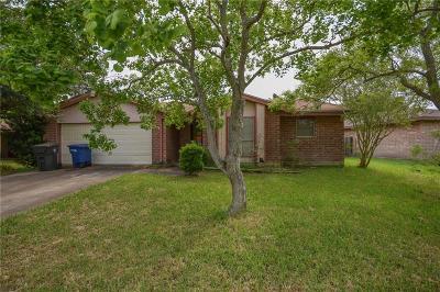 Corpus Christi Single Family Home For Sale: 11633 Cripple Creek Dr