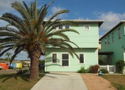 Port Aransas Condo/Townhouse For Sale: 318 Station St #3