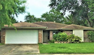 Corpus Christi Single Family Home For Sale: 6818 Crosstimbers Dr