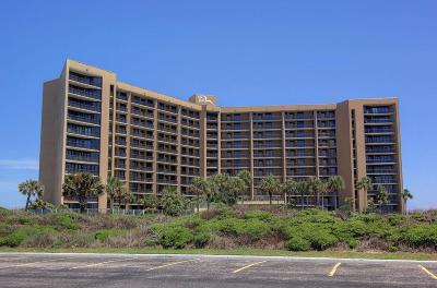 Port Aransas Condo/Townhouse For Sale: 6649 Seacomber Dr #709