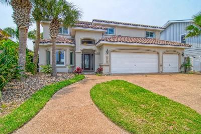 Port Aransas Single Family Home For Sale: 507 Marina Dr