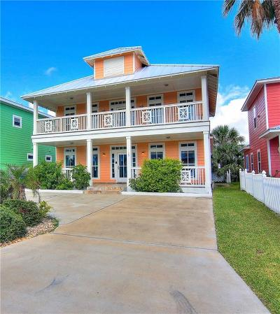 Port Aransas Single Family Home For Sale: 185 Five Dove