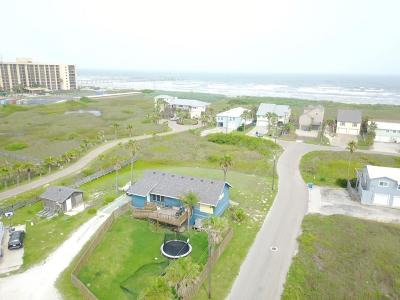 Port Aransas Single Family Home For Sale: 827 E Ave. C