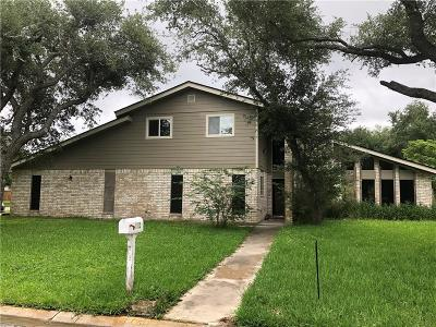 Aransas Pass Single Family Home For Sale: 115 Wehring