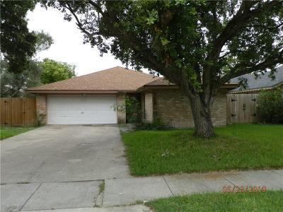 Corpus Christi Single Family Home For Sale: 6822 Heavens Gate Dr