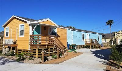 Port Aransas Single Family Home For Sale: 1036 S Tenth St