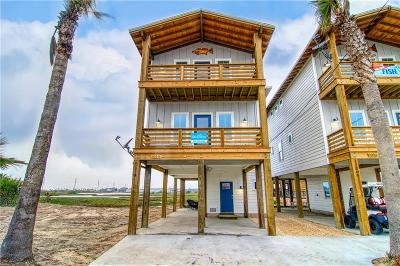 Port Aransas Single Family Home For Sale: 1014 State Hwy 361 #1014