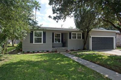 Corpus Christi Single Family Home For Sale: 1325 Ray Dr