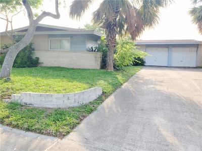 Corpus Christi Single Family Home For Sale: 3122 Catcay Dr