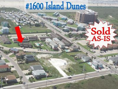Port Aransas TX Condo/Townhouse For Sale: $169,000
