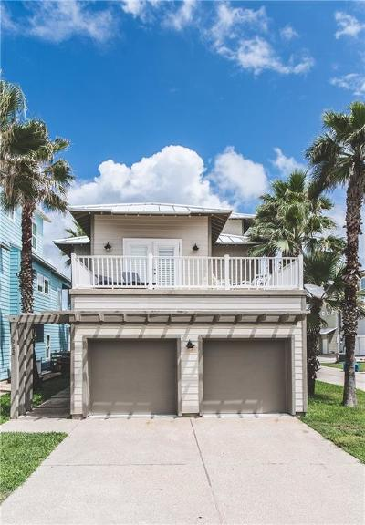 Port Aransas Single Family Home For Sale: 923 Banyan Beach