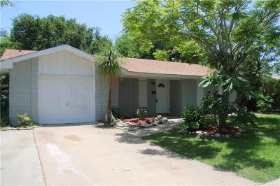 Corpus Christi TX Single Family Home For Sale: $139,900
