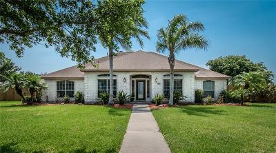 Corpus Christi Single Family Home For Sale: 6017 King Trail