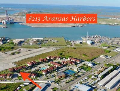 Port Aransas Condo/Townhouse For Sale: 230 Cut Off #213