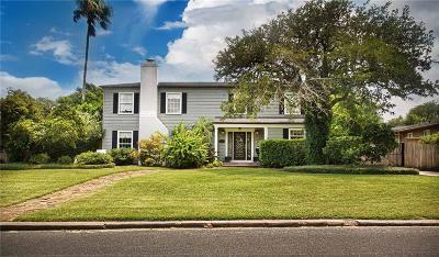 Corpus Christi Single Family Home For Sale: 115 Oleander Ave