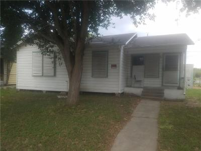 Corpus Christi Single Family Home For Sale: 3637 Mimosa Dr
