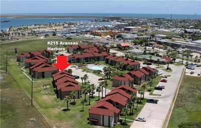 Port Aransas Condo/Townhouse For Sale: 230 Cut Off #215