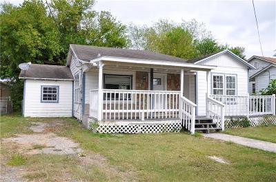 Corpus Christi Single Family Home For Sale: 1434 15th St